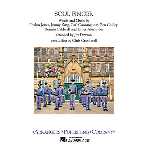 Arrangers Soulfinger Marching Band Level 3 Arranged by Jay Dawson thumbnail