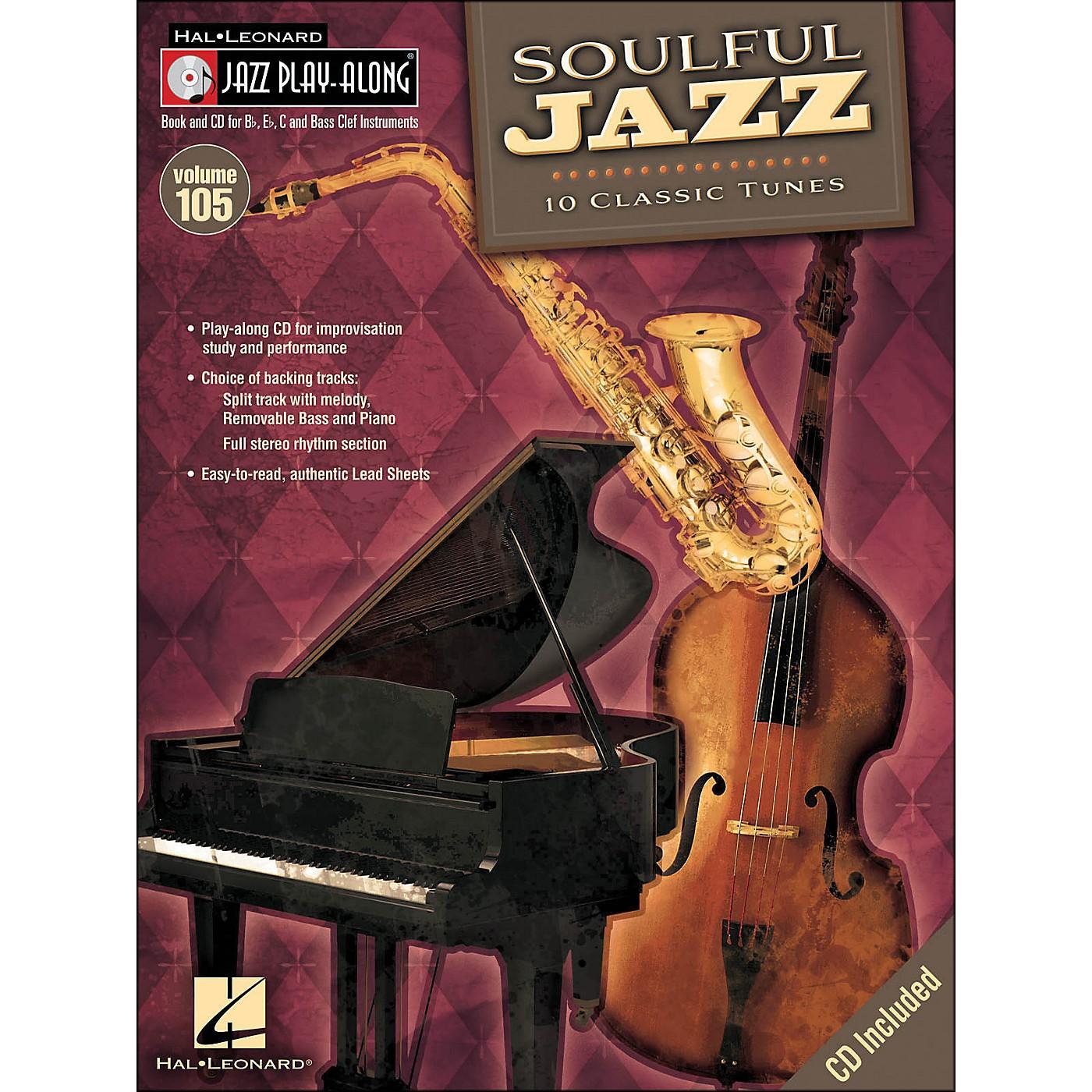 Hal Leonard Soulful Jazz - Jazz Play-Along Volume 105 (CD/Pkg) thumbnail