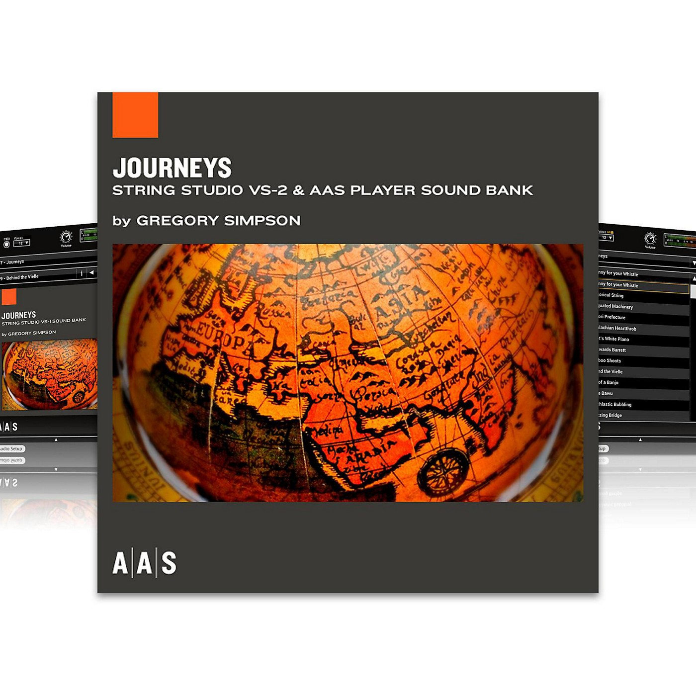 Applied Acoustics Systems Sound Bank Series String Studio VS-2 - Journeys thumbnail
