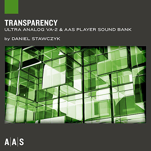 Applied Acoustics Systems Sound Bank Series Ultra Analog VA-2 - Transparency thumbnail