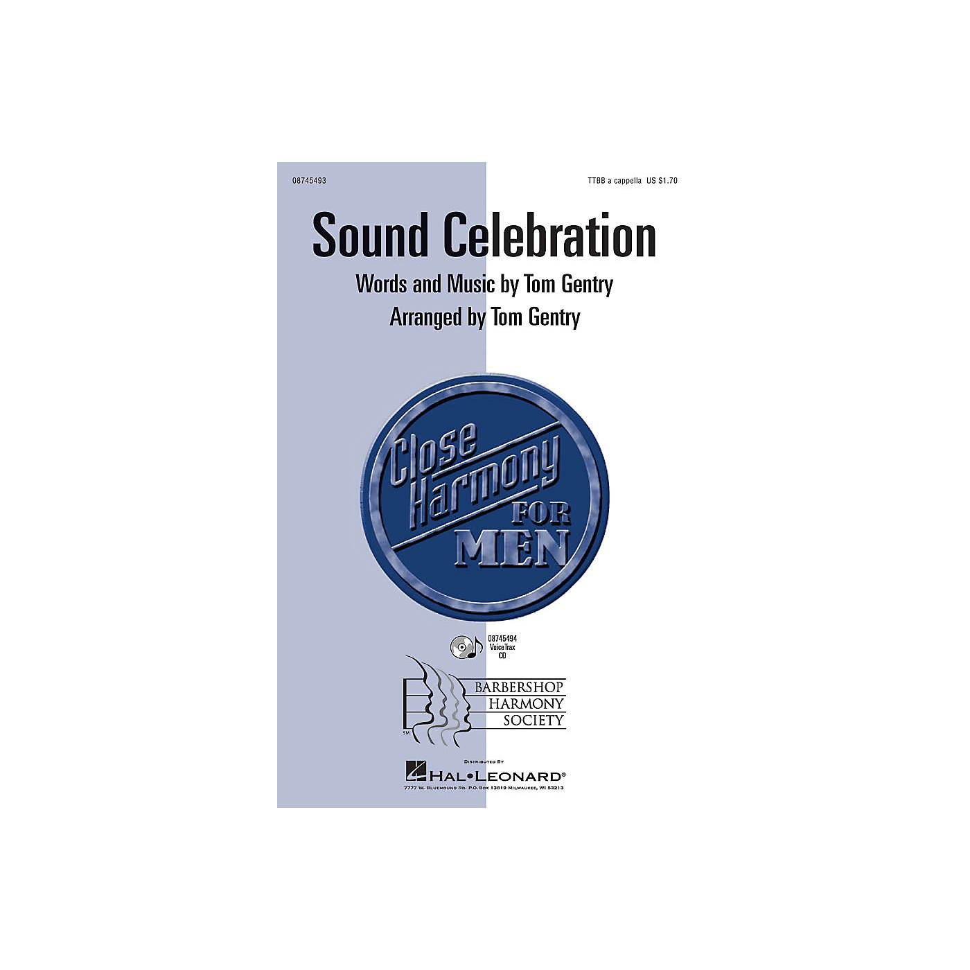 Hal Leonard Sound Celebration TTBB A Cappella arranged by Tom Gentry thumbnail