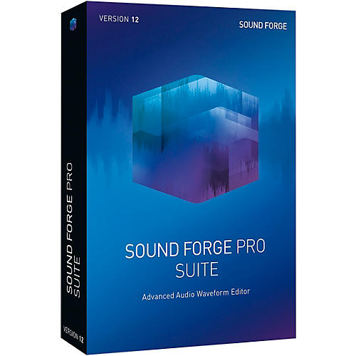 Magix Sound Forge Pro 12 Suite Upgrade thumbnail