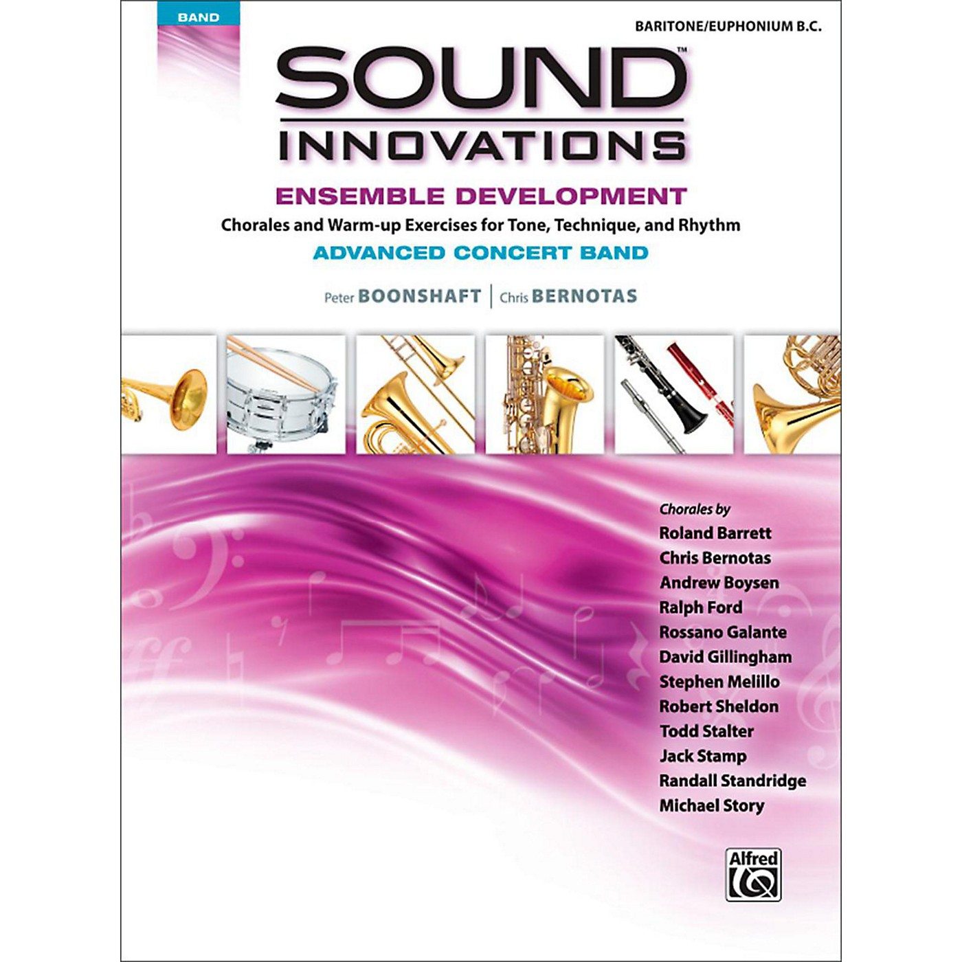 Alfred Sound Innovations Concert Band Ensemble Development Advanced Baritone B.C. thumbnail
