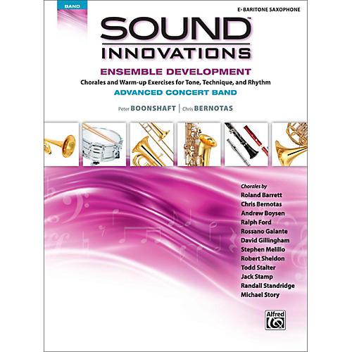 Alfred Sound Innovations Concert Band Ensemble Development Advanced Baritone Saxophone thumbnail