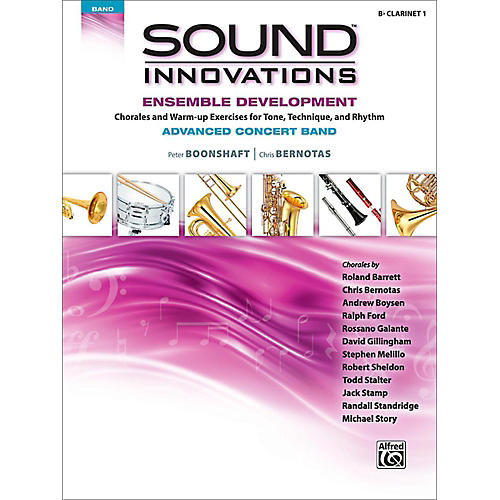 Alfred Sound Innovations Concert Band Ensemble Development Advanced Clarinet 1 thumbnail