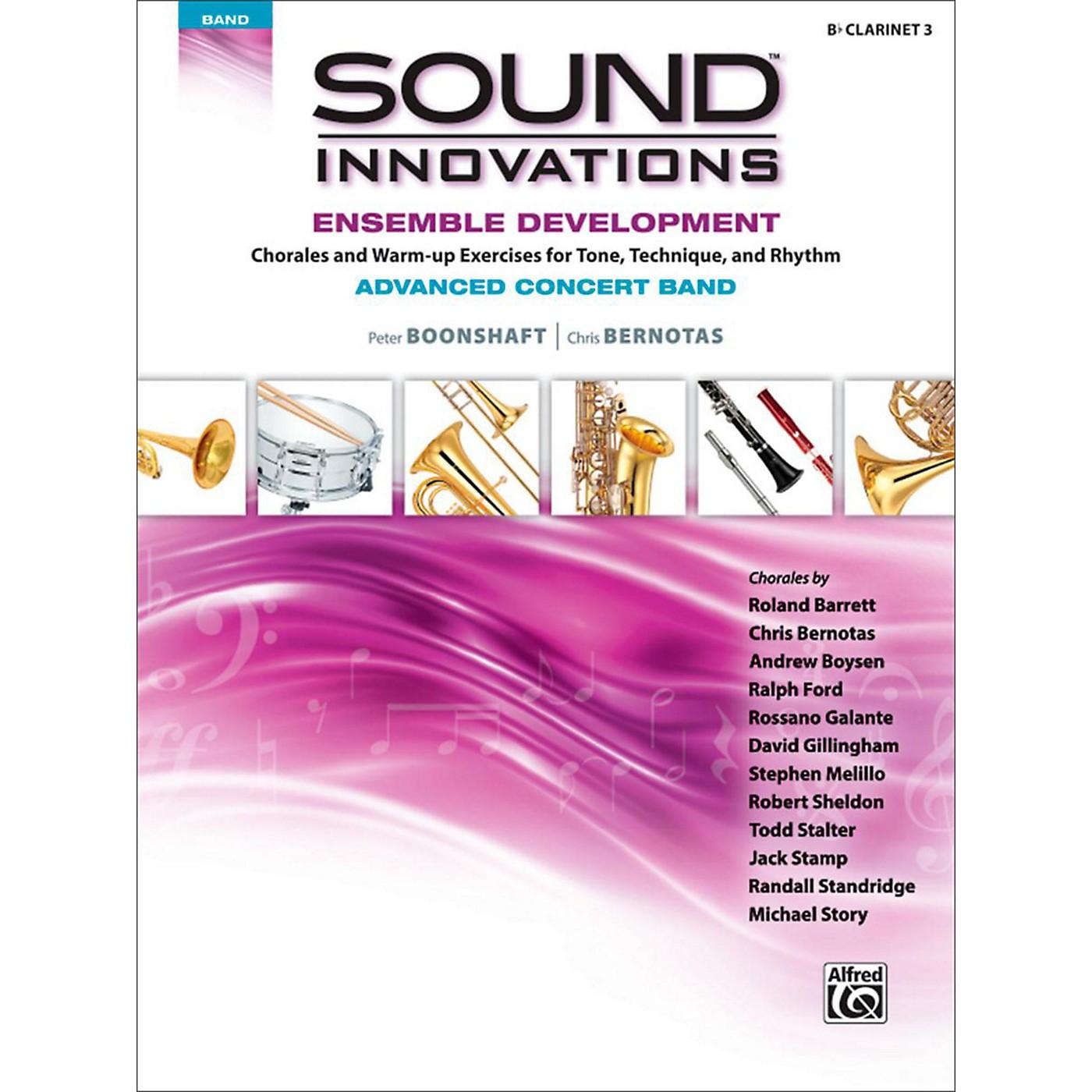 Alfred Sound Innovations Concert Band Ensemble Development Advanced Clarinet 3 thumbnail