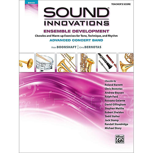 Alfred Sound Innovations Concert Band Ensemble Development Advanced Conductor's Score thumbnail