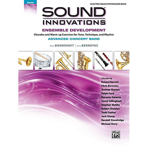 Alfred Sound Innovations Concert Band Ensemble Development Advanced Electric Bass thumbnail