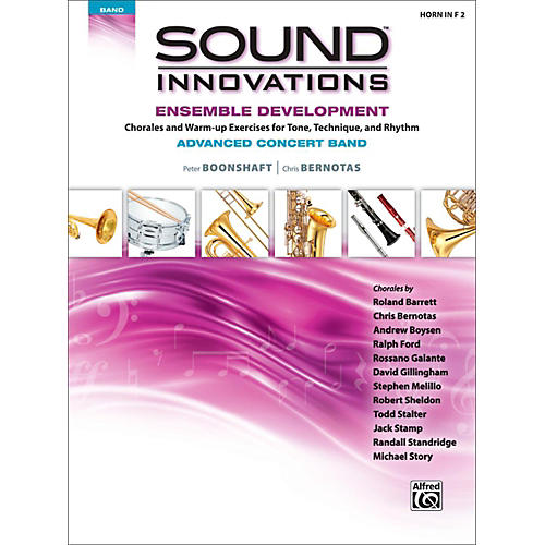 Alfred Sound Innovations Concert Band Ensemble Development Advanced French Horn 2 thumbnail