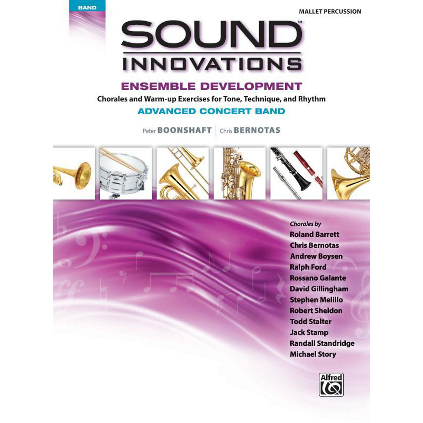Alfred Sound Innovations Concert Band Ensemble Development Advanced Mallet Percussion thumbnail