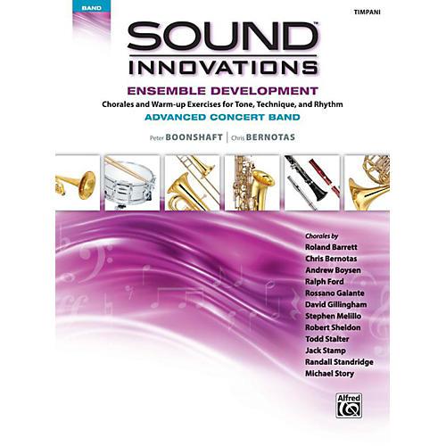 Alfred Sound Innovations Concert Band Ensemble Development Advanced Timpani thumbnail
