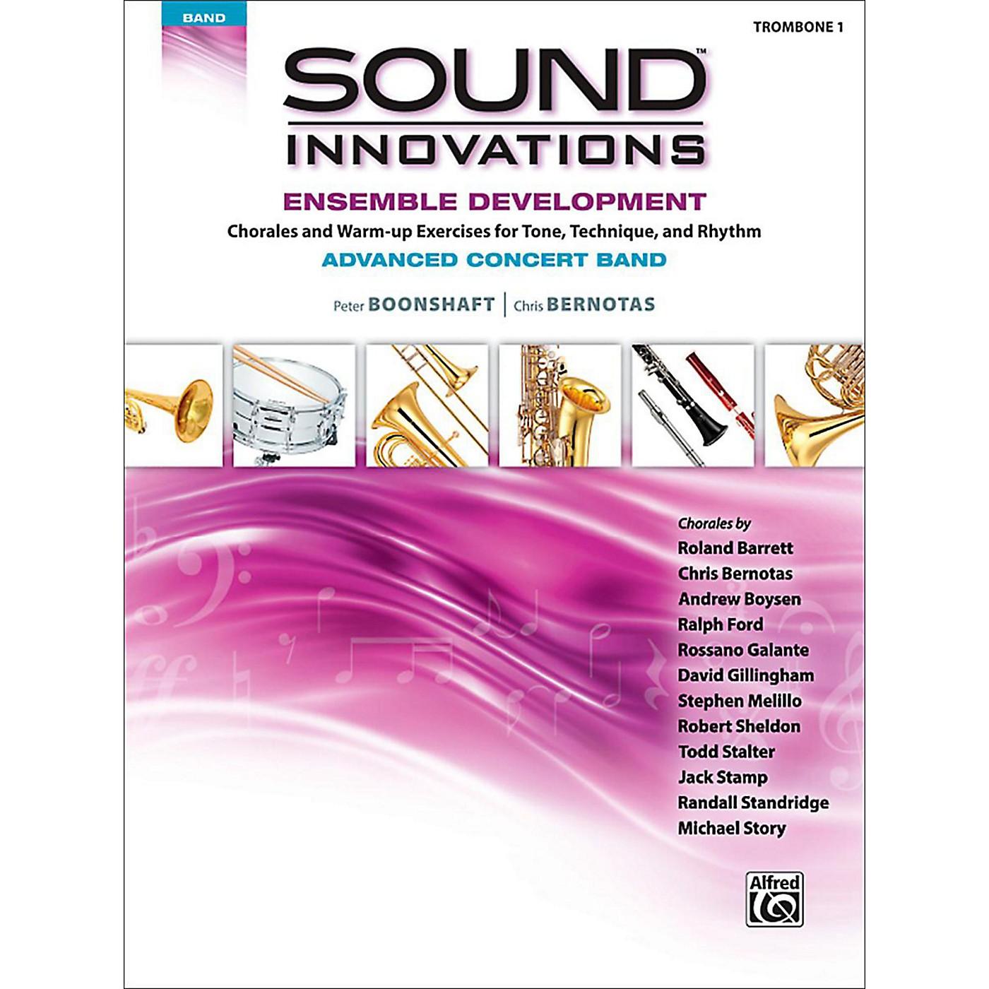 Alfred Sound Innovations Concert Band Ensemble Development Advanced Trombone 1 thumbnail