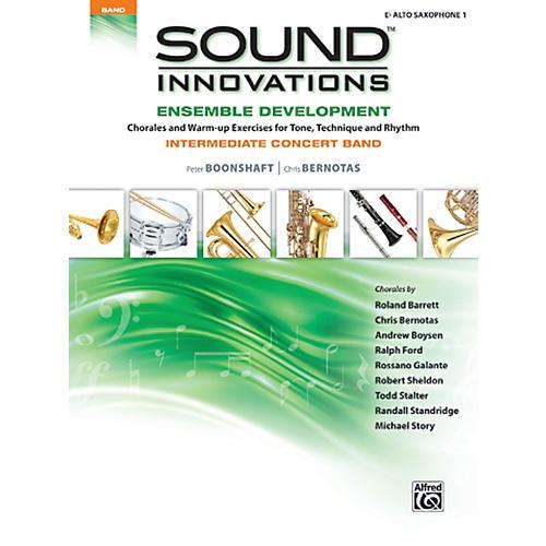 Alfred Sound Innovations Concert Band Ensemble Development E Flat Alto Sax 1 Book thumbnail
