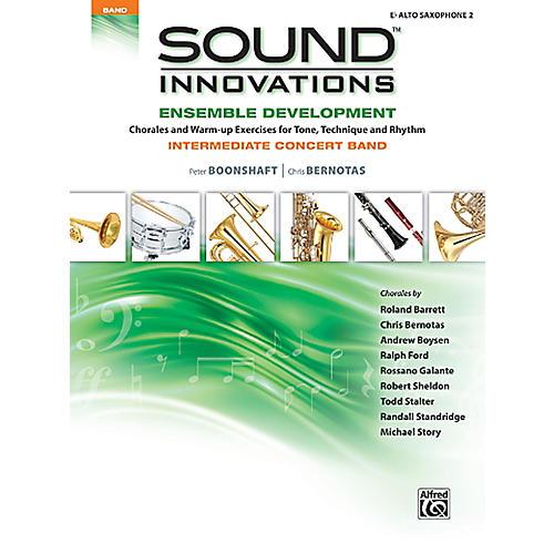 Alfred Sound Innovations Concert Band Ensemble Development E Flat Alto Sax 2 Book thumbnail