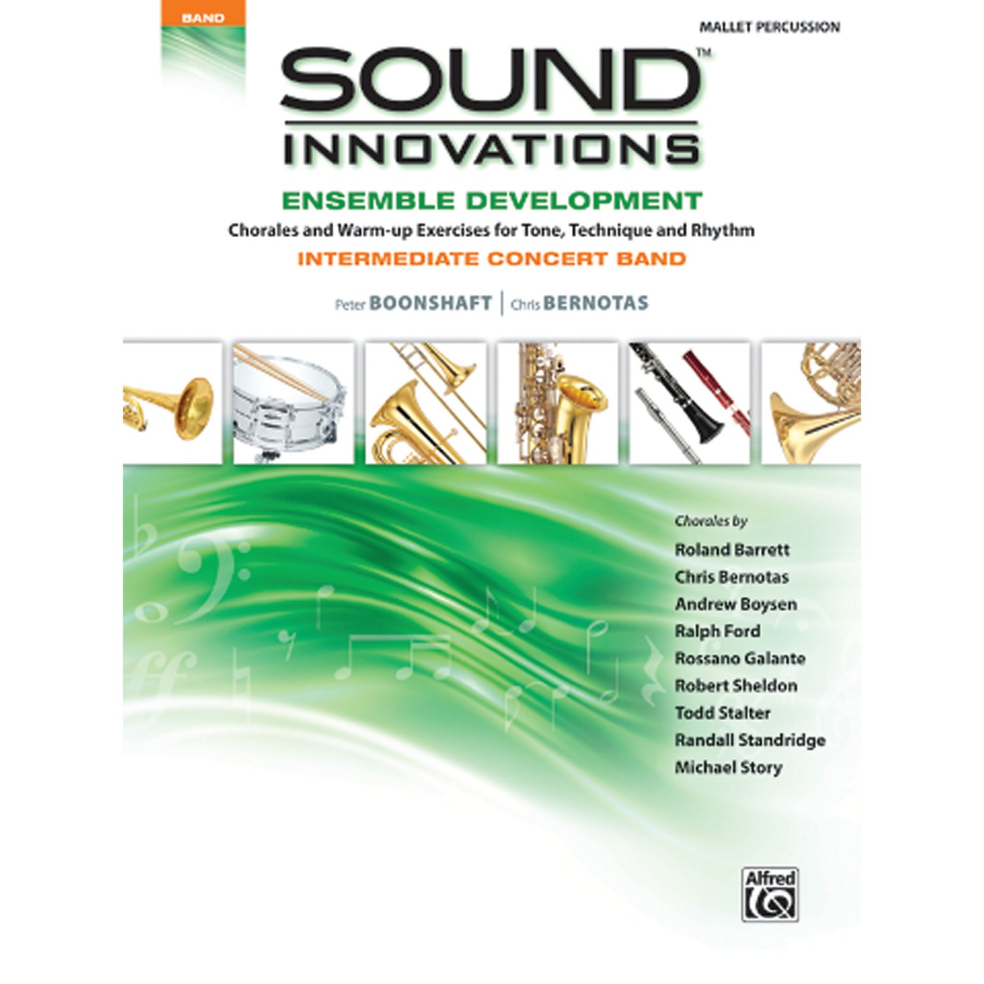 Alfred Sound Innovations Concert Band Ensemble Development Mallet Percussion Book thumbnail
