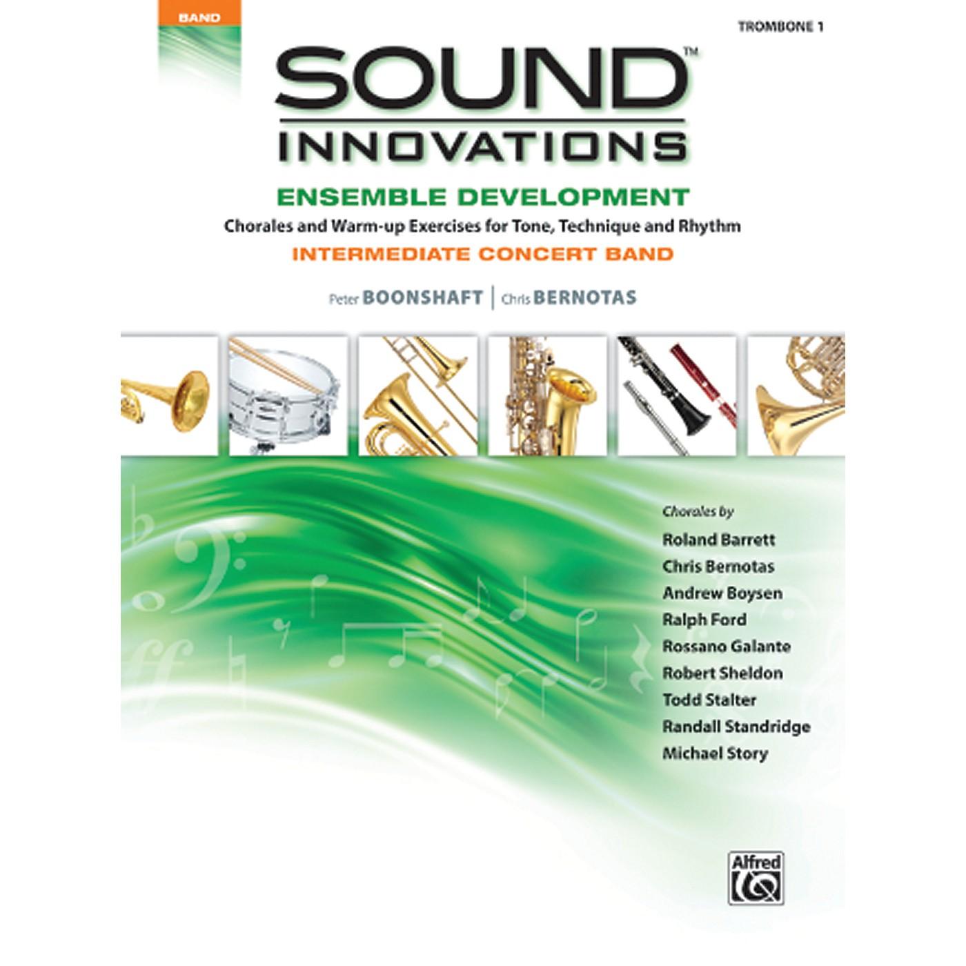 Alfred Sound Innovations Concert Band Ensemble Development Trombone 1 Book thumbnail