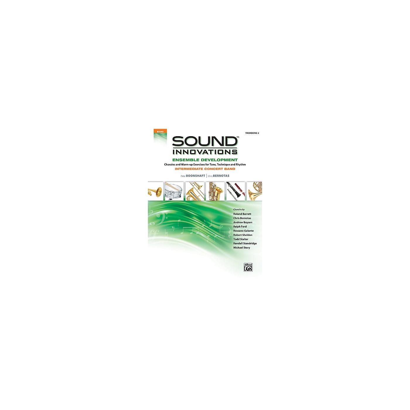 Alfred Sound Innovations Concert Band Ensemble Development Trombone 2 Book thumbnail