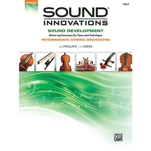 Alfred Sound Innovations Sound Development Viola Book thumbnail