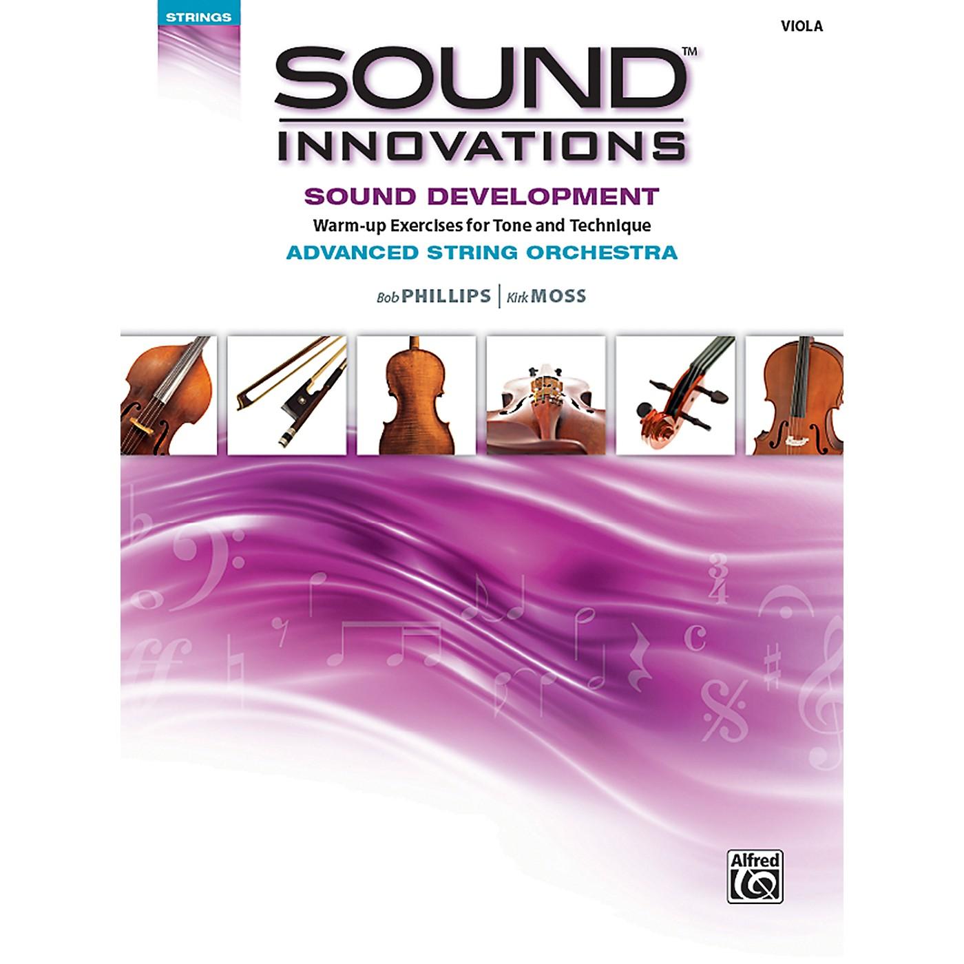 Alfred Sound Innovations String Orchestra Sound Development Advanced Viola Book thumbnail