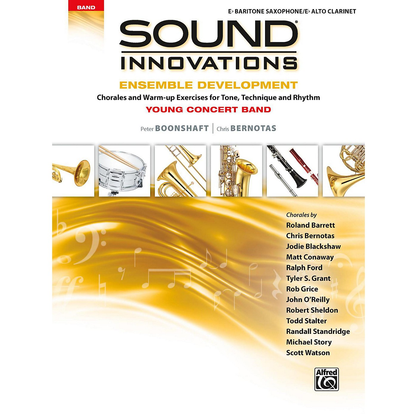 Alfred Sound Innovations for Concert Band - Ensemble Development for Young Concert Band Baritone Saxophone/Alto Clarinet thumbnail