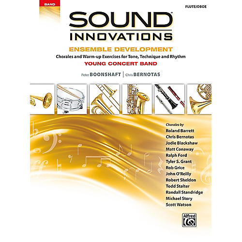 Alfred Sound Innovations for Concert Band - Ensemble Development for Young Concert Band Flute/Oboe thumbnail