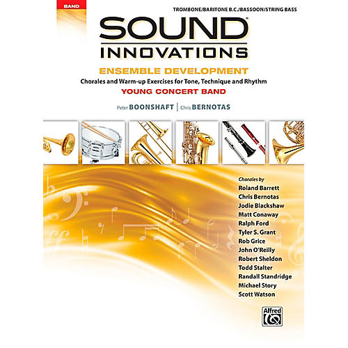 Alfred Sound Innovations for Concert Band - Ensemble Development for Young Concert Band Trombone/Baritone/Bassoon/String Bass thumbnail