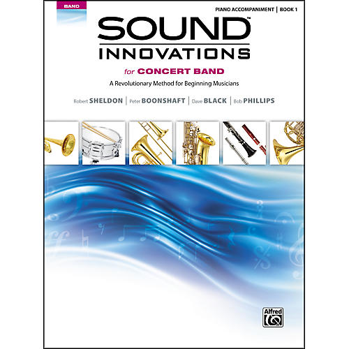 Alfred Sound Innovations for Concert Band Book 1 Piano Accom. Book thumbnail