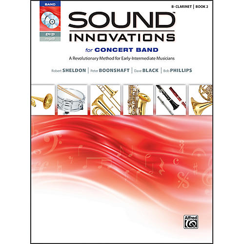 Alfred Sound Innovations for Concert Band Book 2 B-Flat Clarinet Book CD/DVD thumbnail