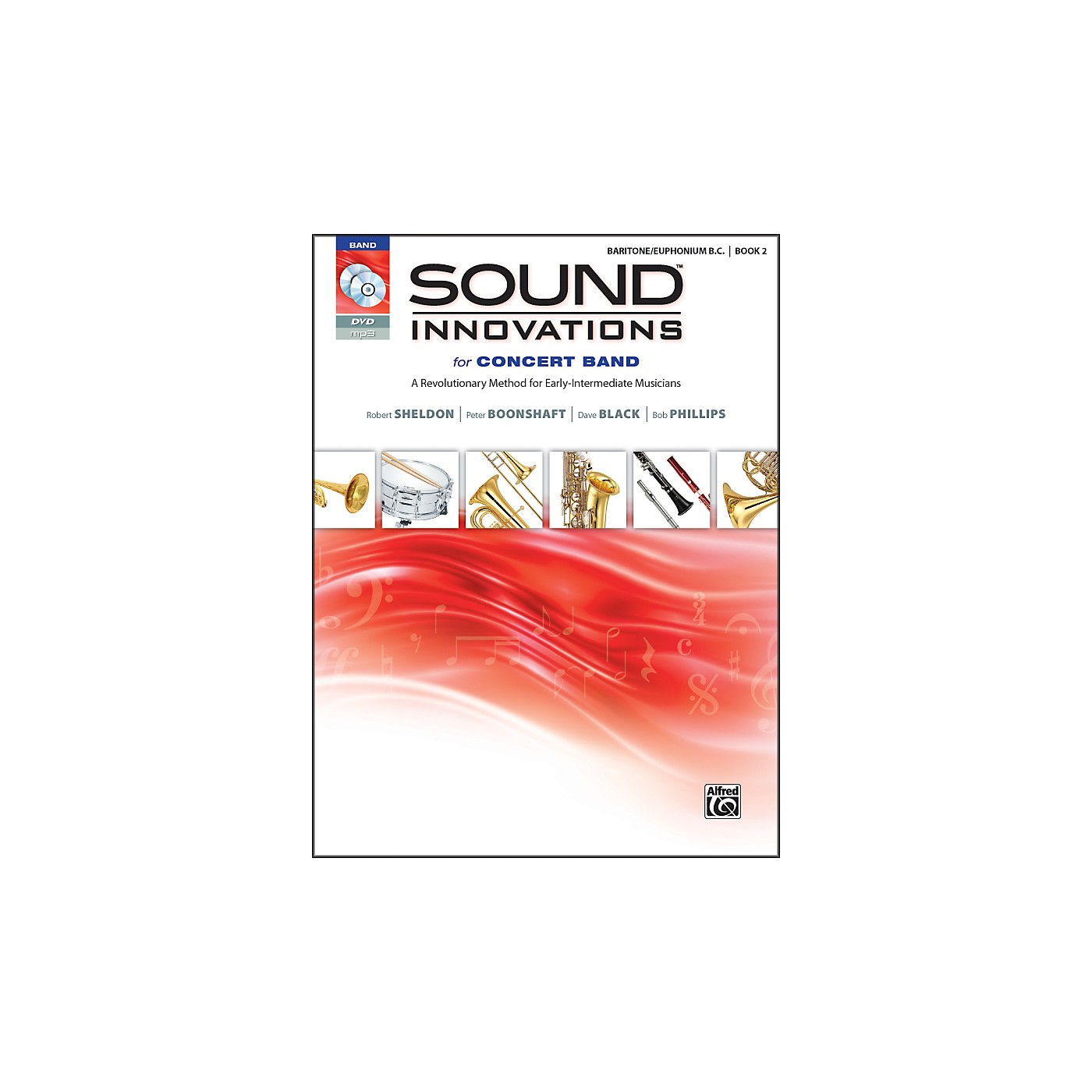 Alfred Sound Innovations for Concert Band Book 2 Baritone B.C. Book CD/DVD thumbnail