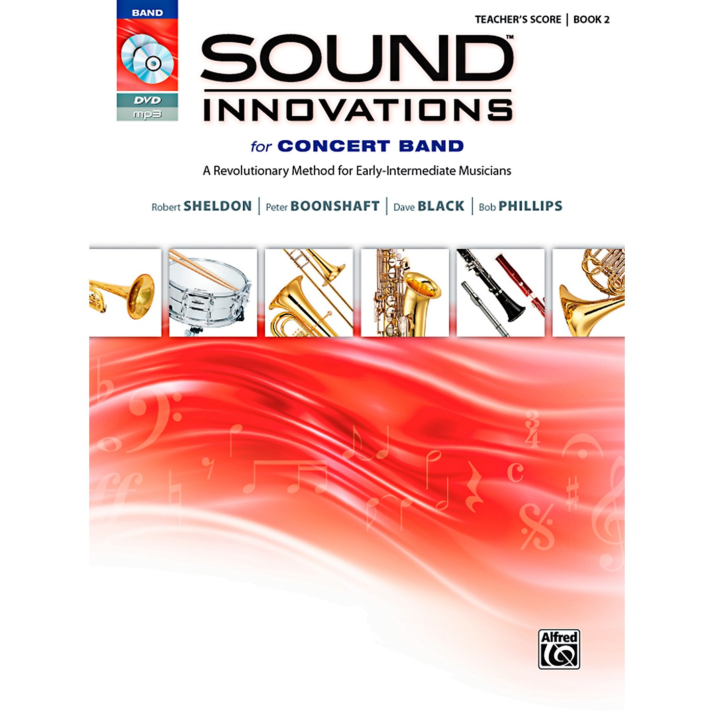 Alfred Sound Innovations for Concert Band Book 2 Conductor's Score Book thumbnail
