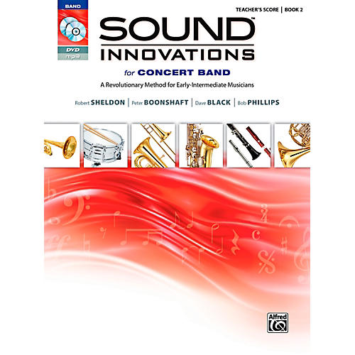 Alfred Sound Innovations for Concert Band Book 2 Conductor's Score Book-thumbnail