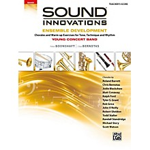 Alfred Sound Innovations for Concert Band: Ensemble Development for Young Concert Band Conductor's Score