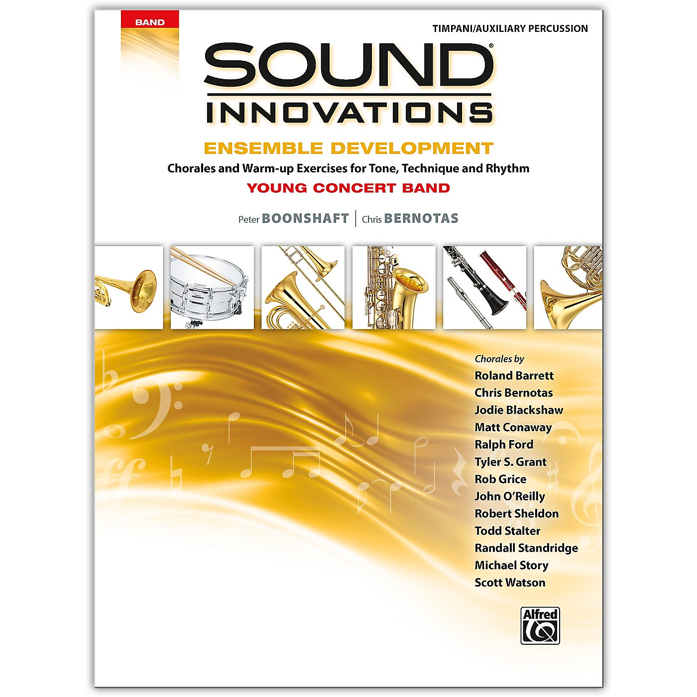 Alfred Sound Innovations for Concert Band: Ensemble Development for Young Concert Band Timpani/Auxiliary Percussion thumbnail