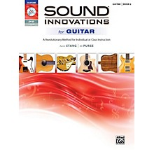 Alfred Sound Innovations for Guitar 2 Book & DVD