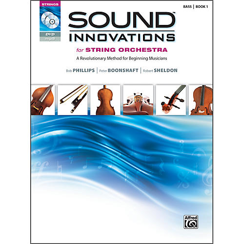 Alfred Sound Innovations for String Orchestra Book 1 Bass Book CD/ DVD thumbnail