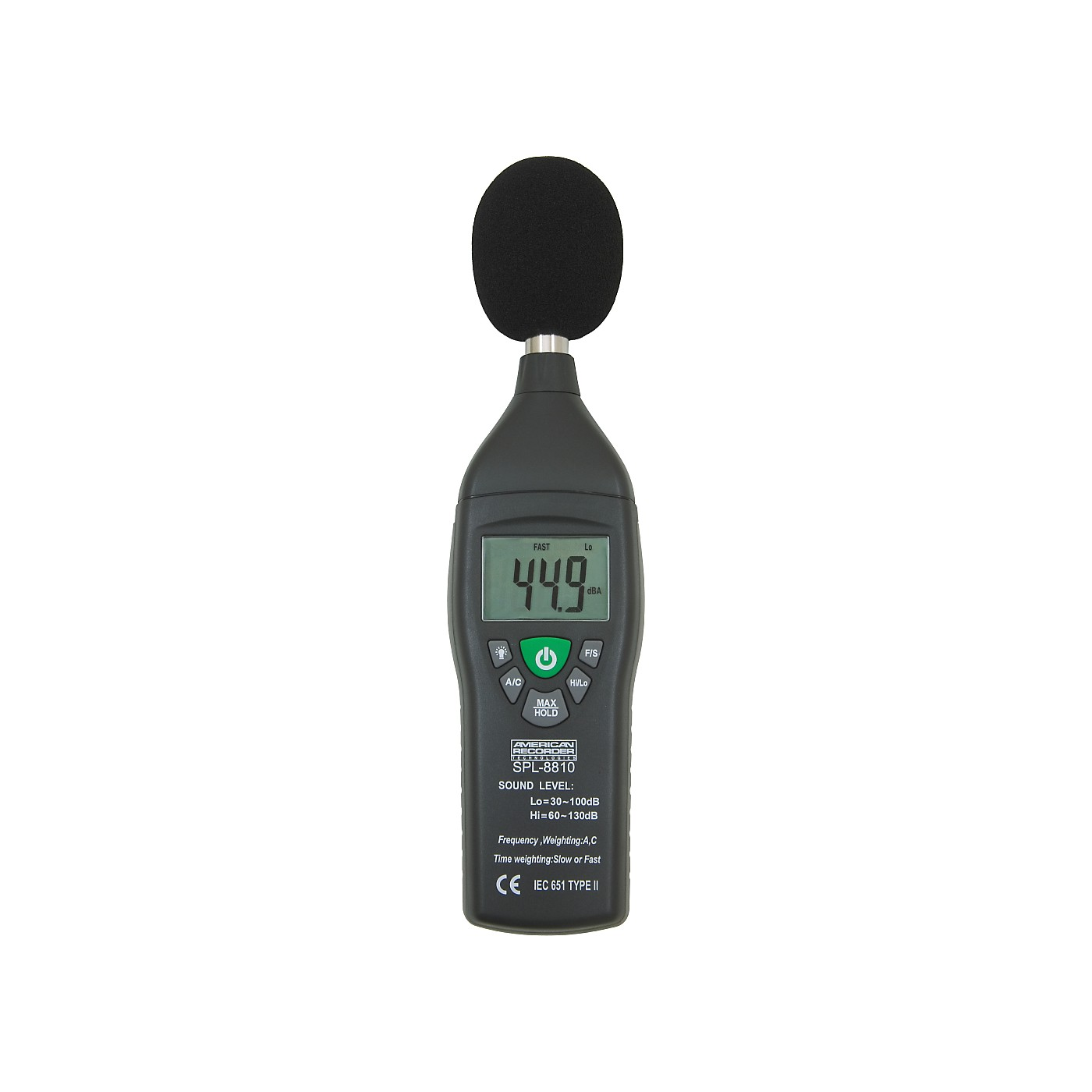 American Recorder Technologies Sound Level Meter thumbnail