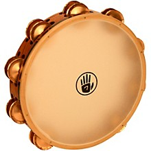 Black Swamp Percussion SoundArt Series 10 inch Tambourine Double Row with Calf Head