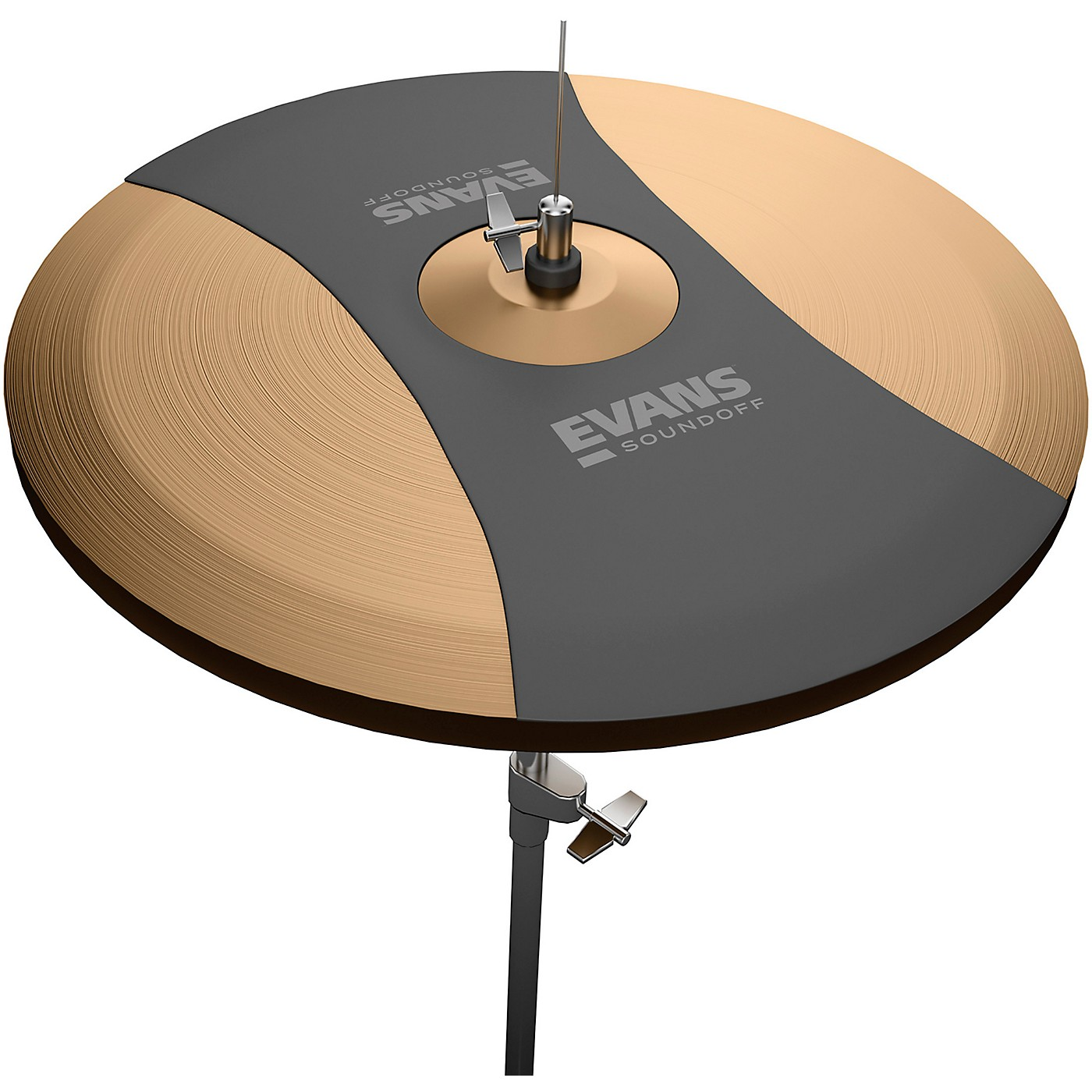 Evans SoundOff Hi-Hat Cymbal Mute thumbnail