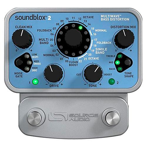 Source Audio Soundblox 2 Multi Wave Bass Distortion-thumbnail