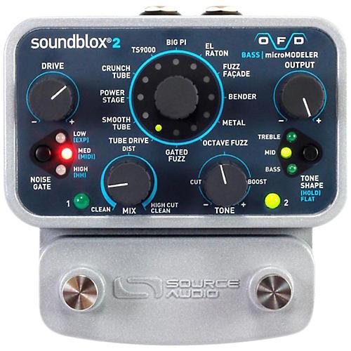 Source Audio Soundblox 2 OFD microModeler Bass Effects Pedal thumbnail