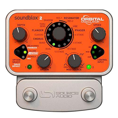 Source Audio Soundblox 2 Orbital Modulator thumbnail