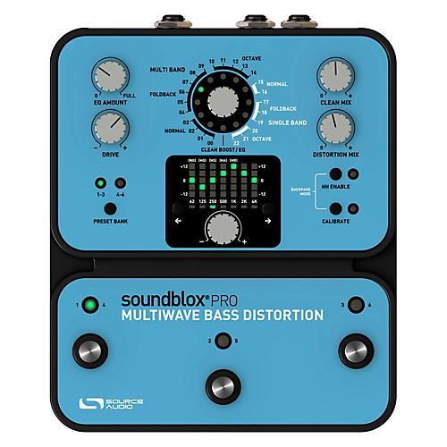 Source Audio Soundblox Pro Multi Wave Bass Distortion thumbnail