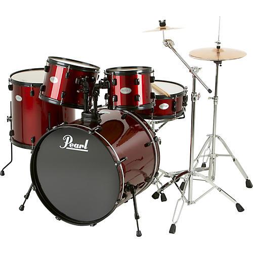 Pearl Soundcheck 5-Piece Drum Set with Zildjian Cymbals thumbnail