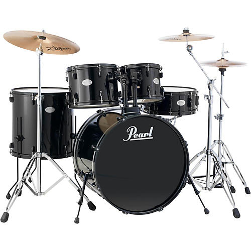 Pearl Soundcheck 5-Piece Drumset with Cymbals and Hardware thumbnail