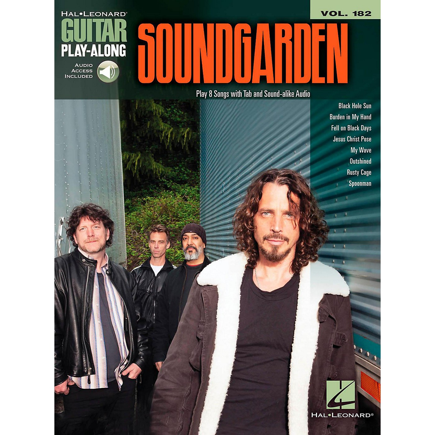 Hal Leonard Soundgarden - Guitar Play-Along Vol. 182 Book/Online Audio thumbnail