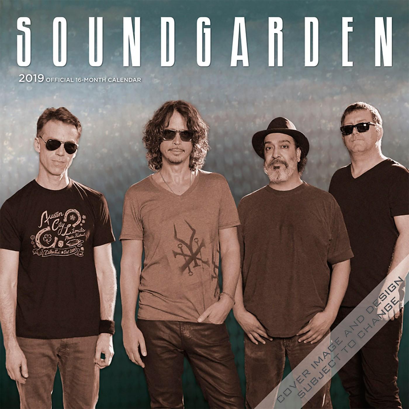 Browntrout Publishing Soundgarden 2019 Calendar thumbnail