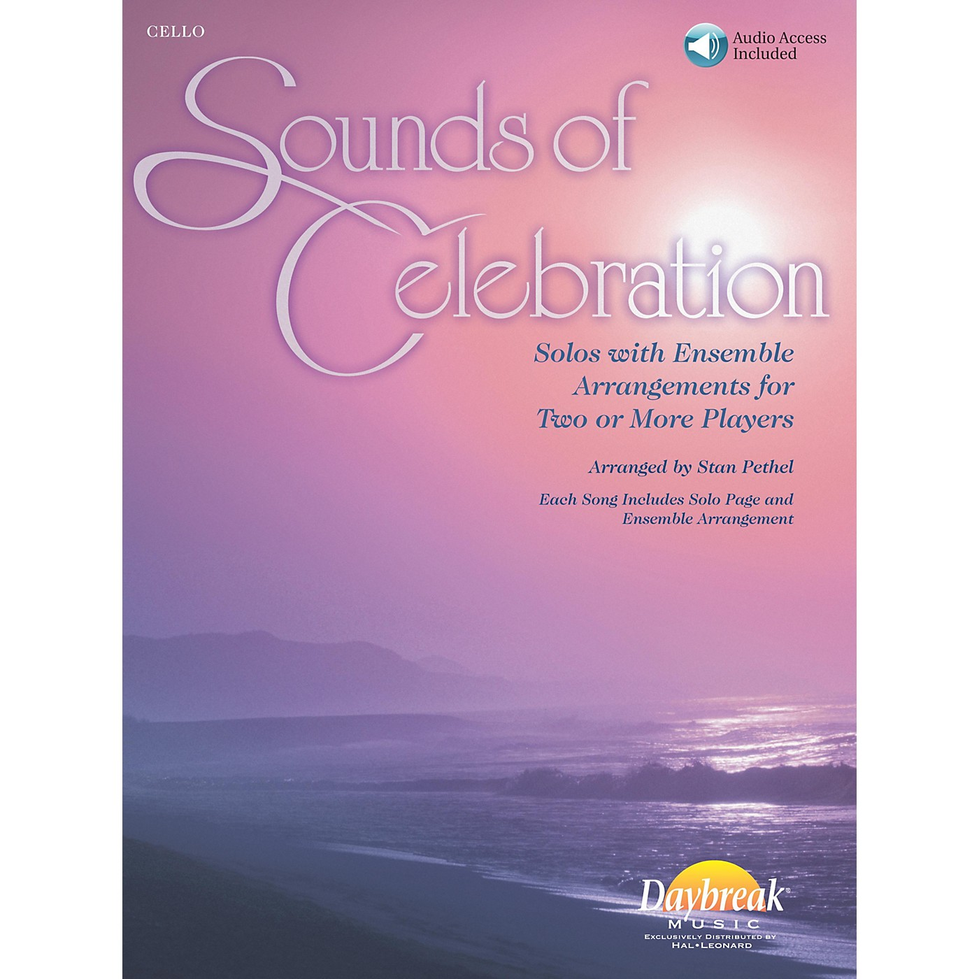 Daybreak Music Sounds of Celebration (Solos with Ensemble Arrangements for Two or More Players) Cello thumbnail