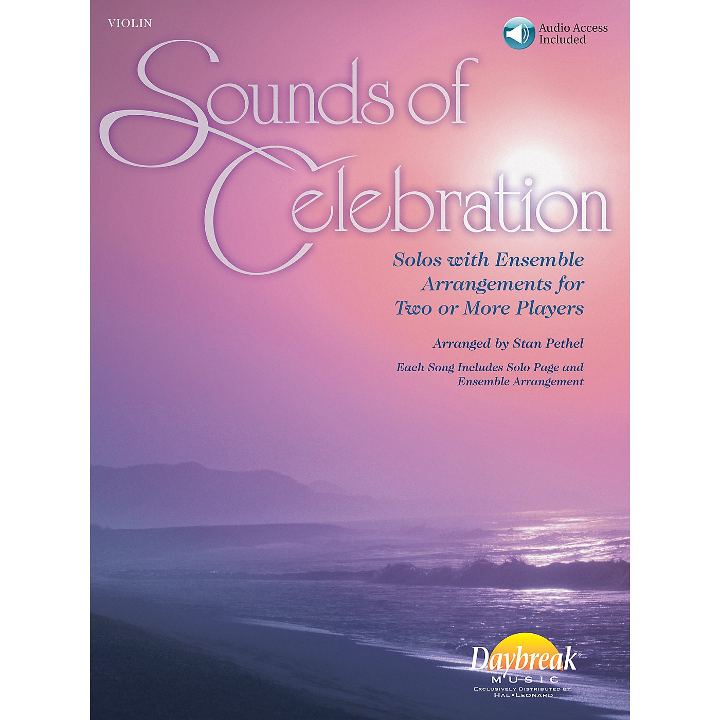 Daybreak Music Sounds of Celebration (Solos with Ensemble Arrangements for Two or More Players) Violin thumbnail