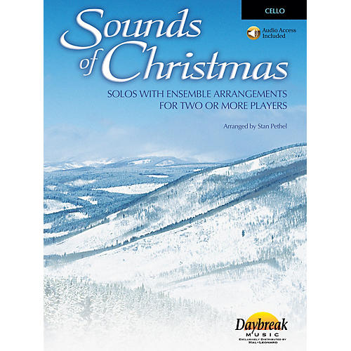 Daybreak Music Sounds of Christmas (Solos with Ensemble Arrangements for Two or More Players) Cello thumbnail