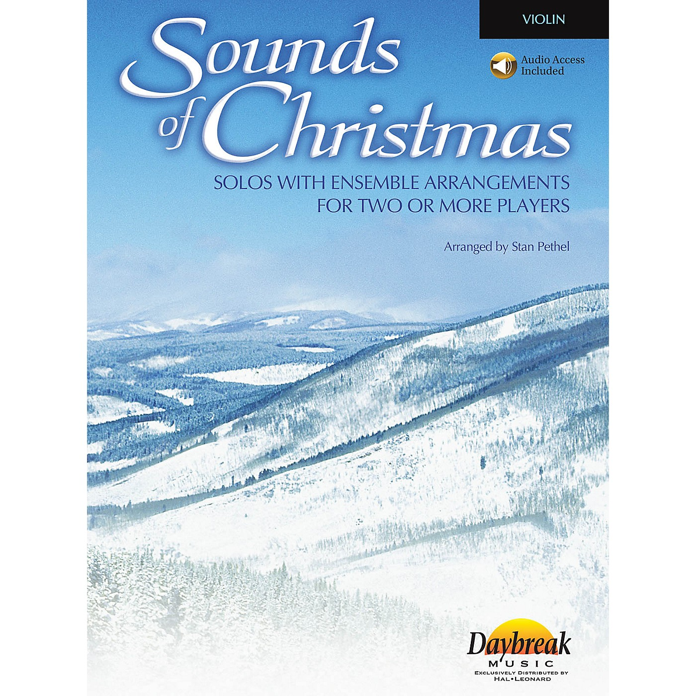 Daybreak Music Sounds of Christmas (Solos with Ensemble Arrangements for Two or More Players) Violin thumbnail